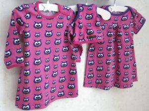kläder till syskon och docka