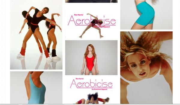 Aerobicise med dräkt benvärmare