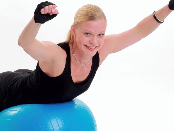 Övningar med pilatesboll