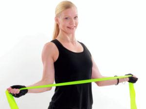 övningar gummiband