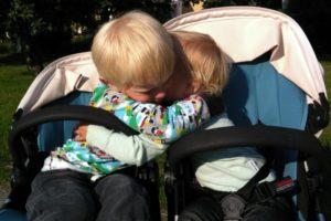 På utflykt med barnvagnen