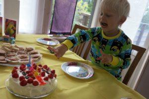 Grattis på födelsedagen Vidar 4 år!