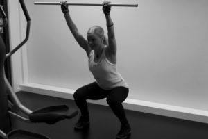 Träningsövning för ben & bak