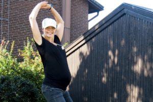 Gravid i vecka 32 av 40