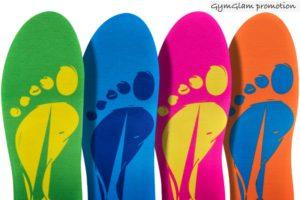 Sviktande sulor som formas efter dina fötter