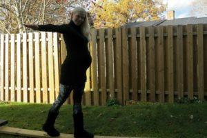 Gravid i vecka 38 och plus 17 kilo