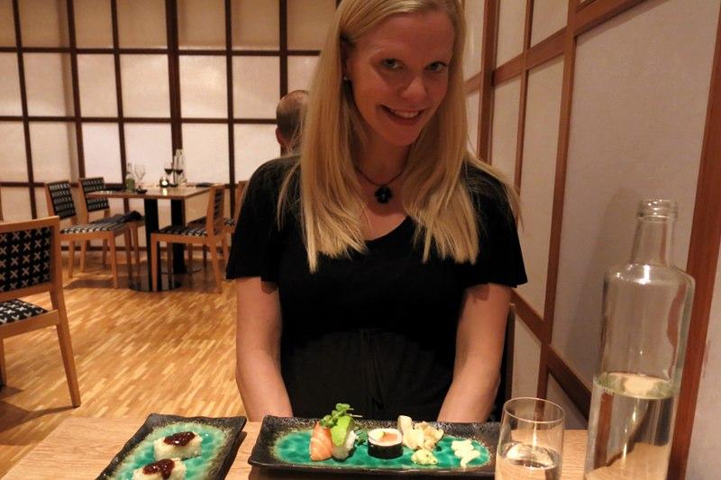 middag restaurang Tokyo på Yasuragi