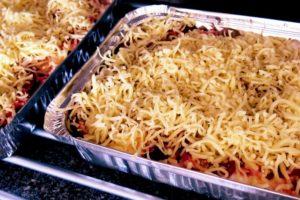 Nyttig lasagne med morötter och rödbetor