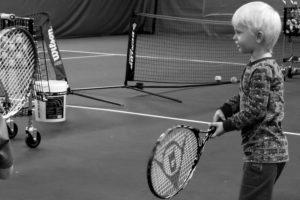 Tennis för 4-åringar
