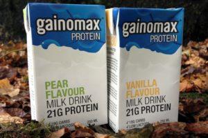 Jämförelse Gainomax Recovery & Protein Drink