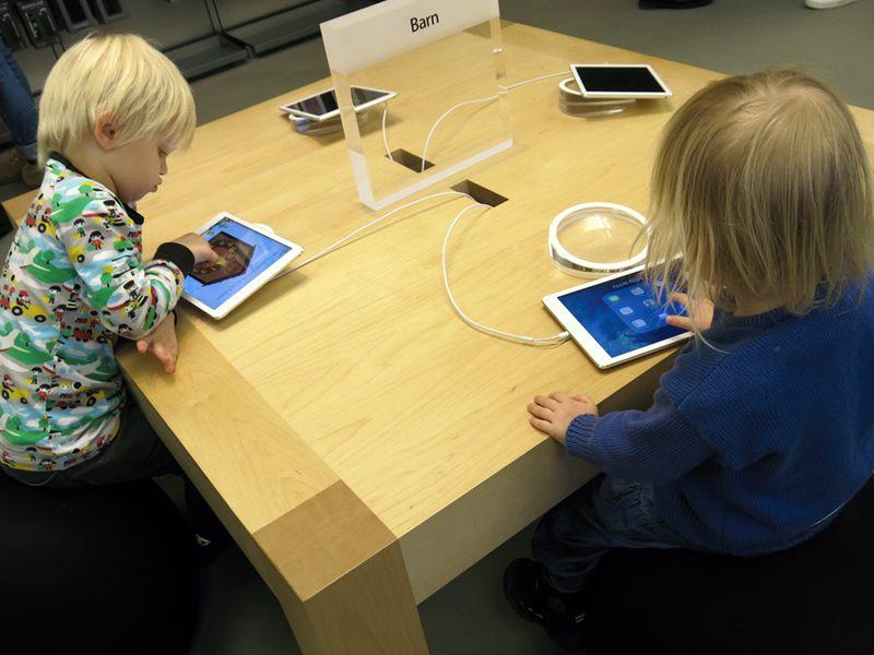 kul på Apple Store