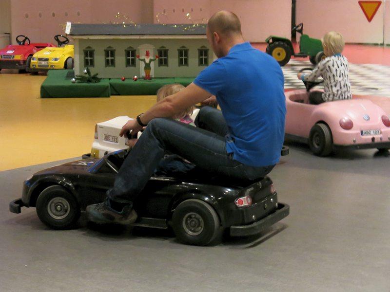 El-bilar på Tekniska museet