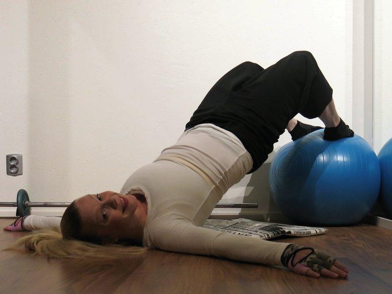 Återförening med träningsredskapen