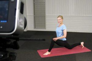 Filmning av träningsövningar