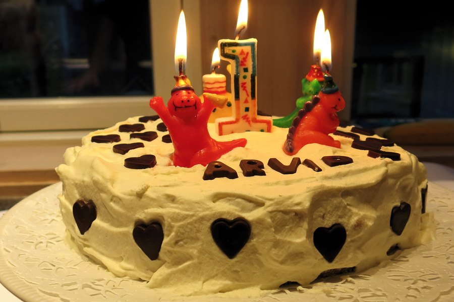 Arvid 1 uthe cake