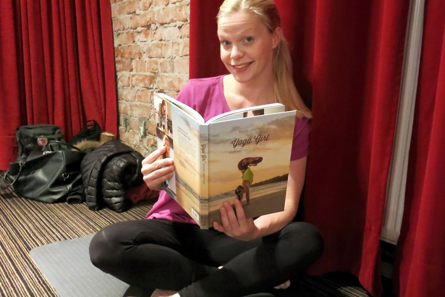 Yoga Girl the book
