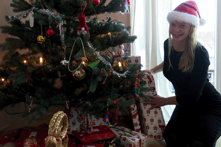 god jul från Caroline