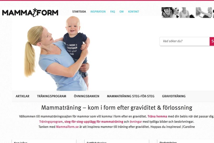 ny design och bättre mammaträning