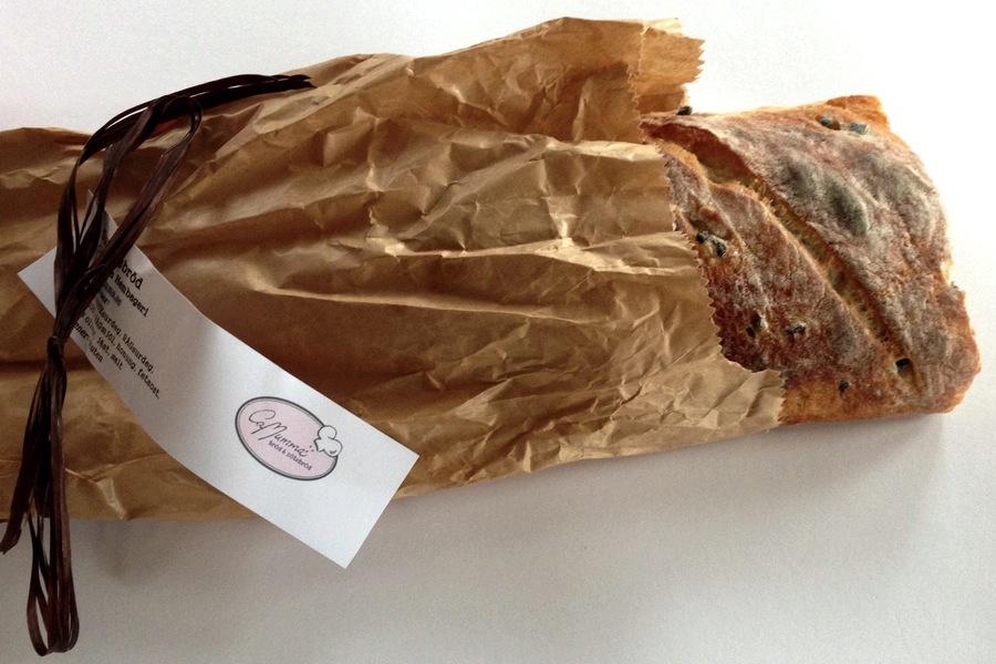Hembakat bröd från Camumma