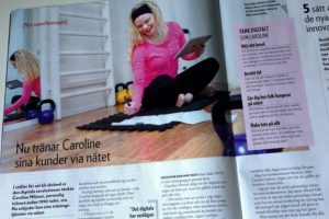 Jag intervjuas i tidningen Driva Eget