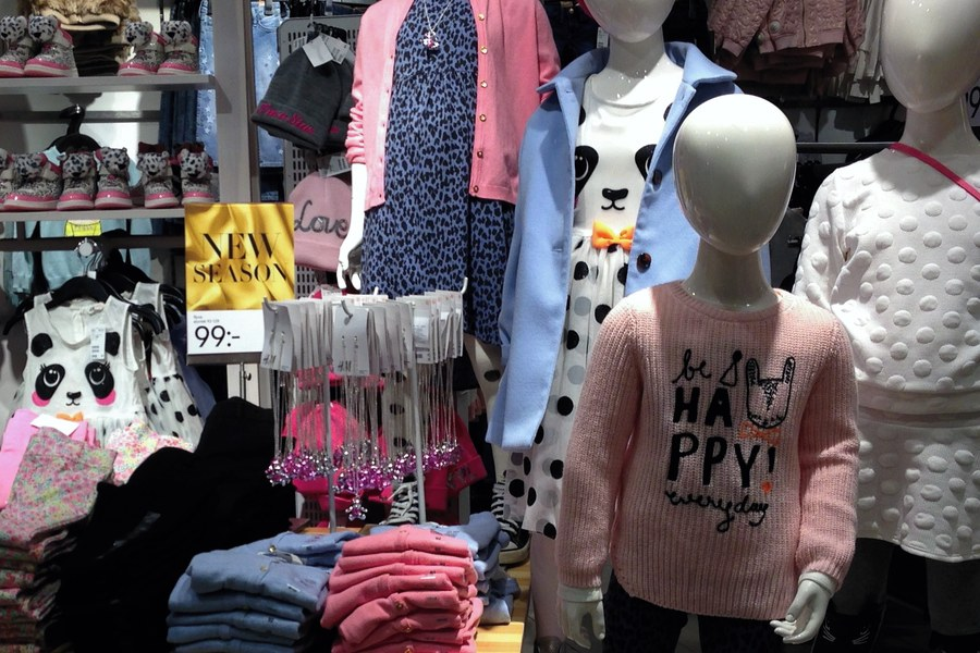 snygga barnkläder på HM