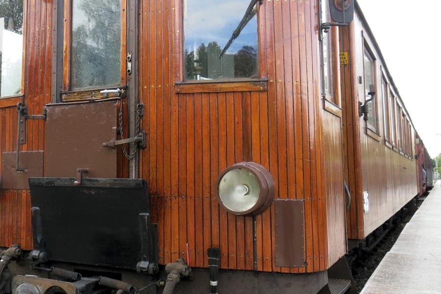 Roslagsbanans veterantåg loket