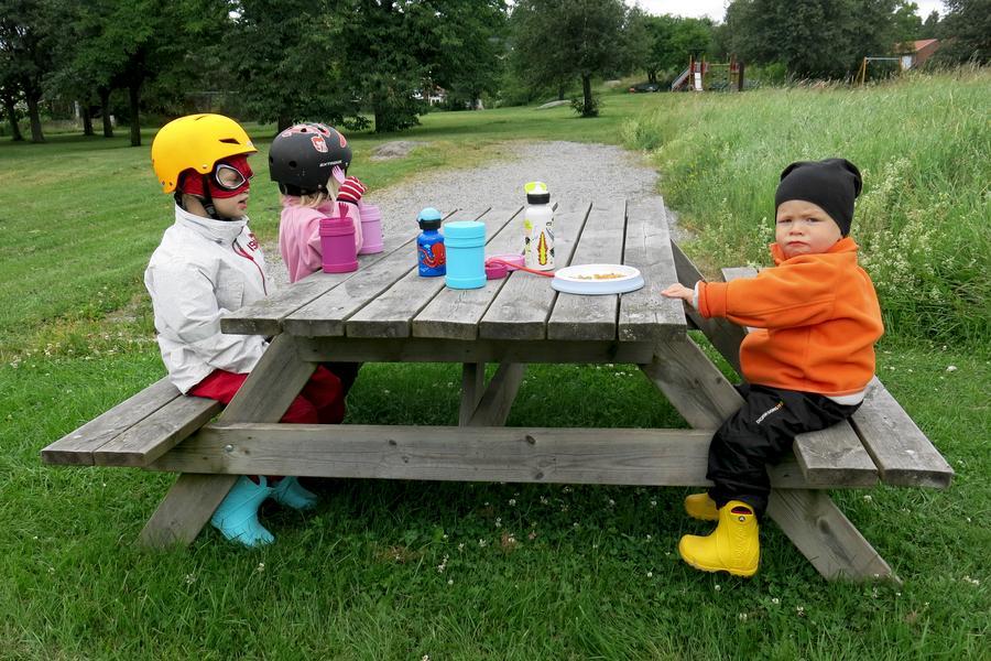 Picknick i parken