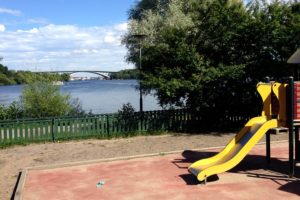 Stockholms bästa lekparksutsikt
