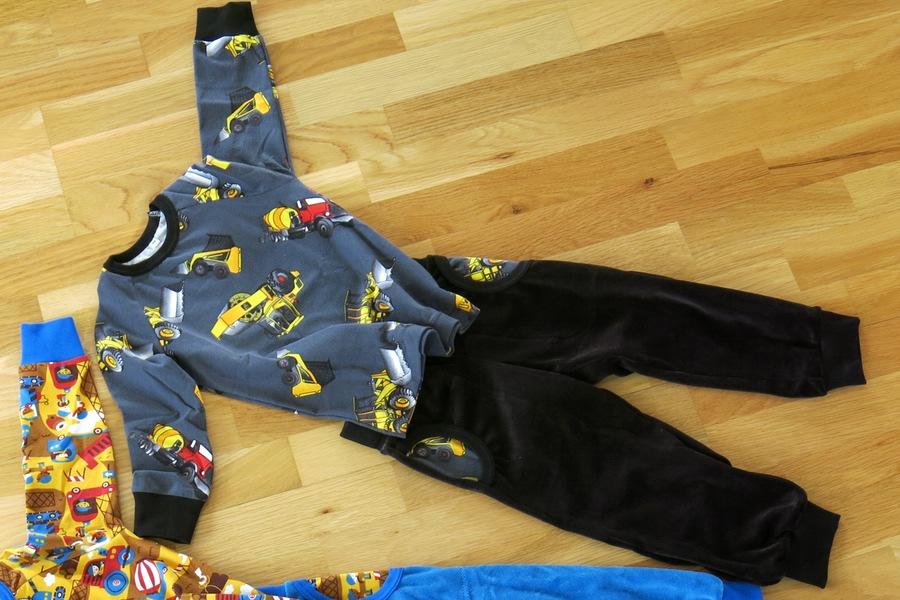 barnkläder fordon