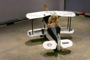 Flygplasnlådbil på Tekniska Museet