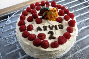 Minstingen Arvid 2 år!
