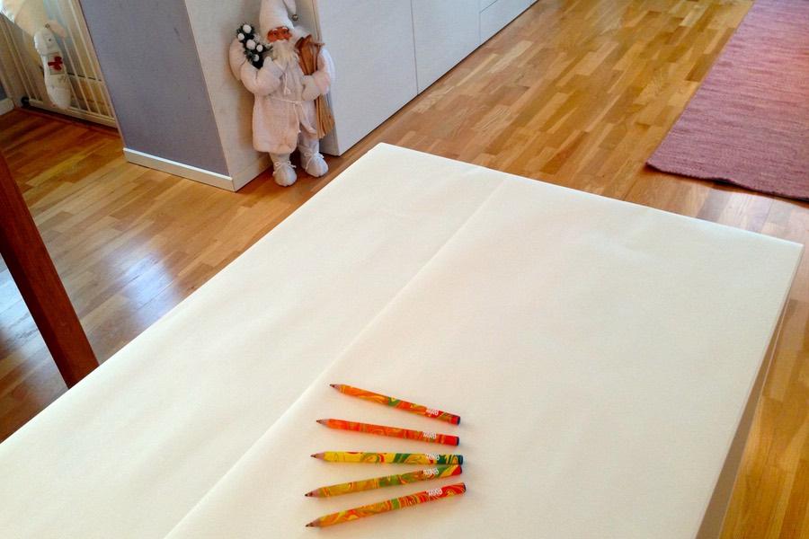 barnens nyårsbord