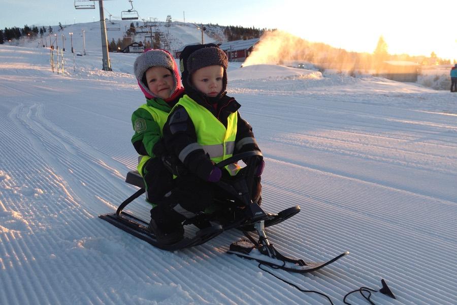 Snowracer är alltid lika skoj