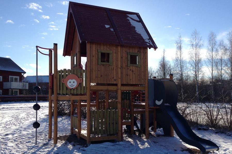 Fin lekpark i Uppsala