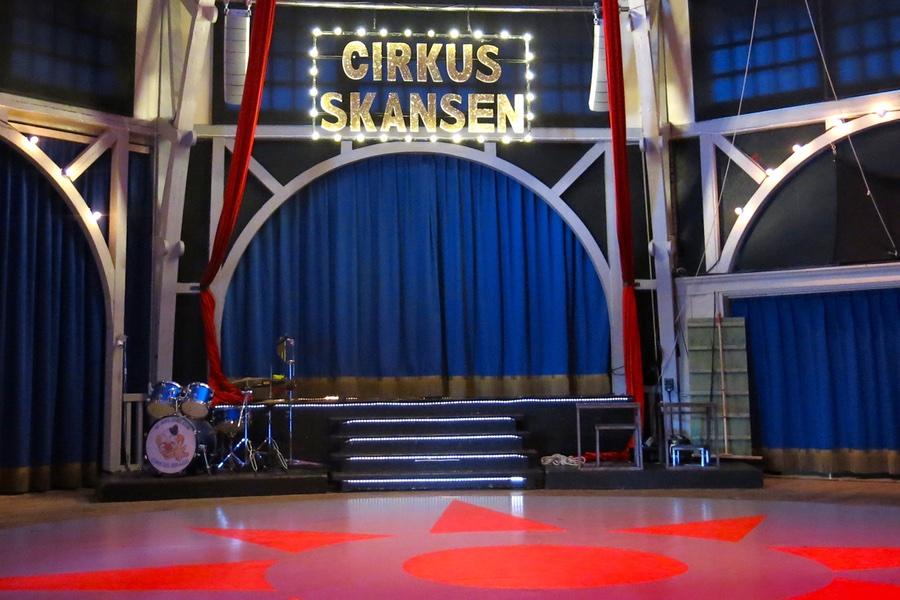 Cirkusföreställning på Skansen