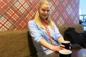 En kopp kaffe med Malin
