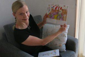 Min första barnbok har kommit från tryckeriet!