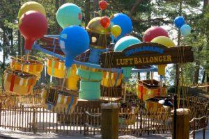 Karusellen Skalmans luftballonger