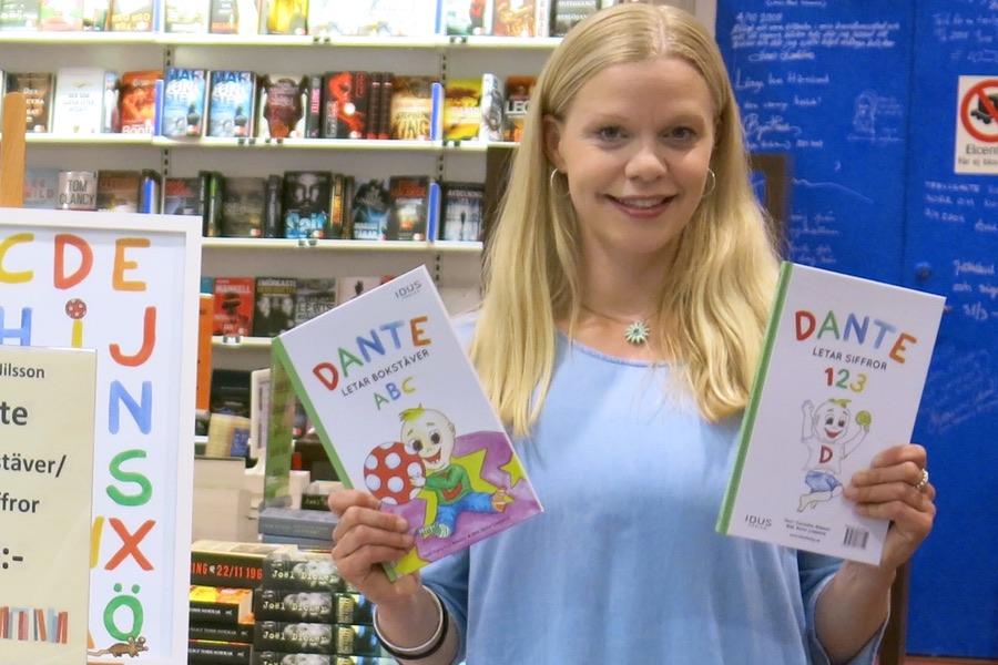 Jag och min barnbok på Öbacka bok