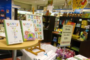 Barnboken Dante letar siffror / Dante letar bokstäver bokhandel