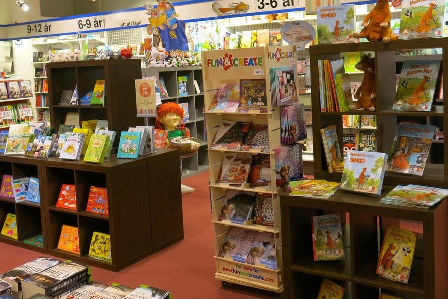 Fin bokhandel i Härnösand