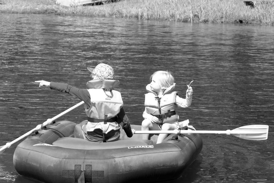 Frihet under ansvar i en båt