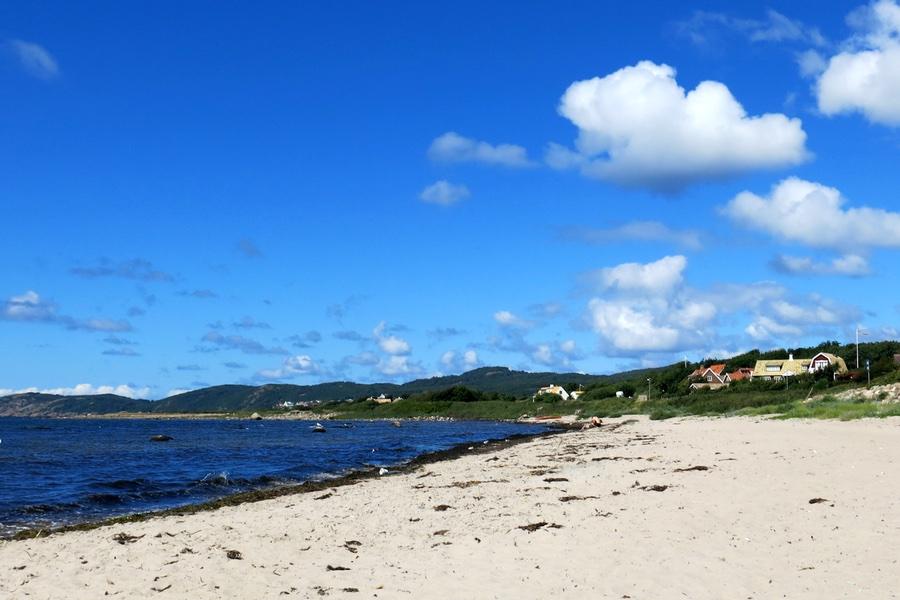 stranden i Lerhamn
