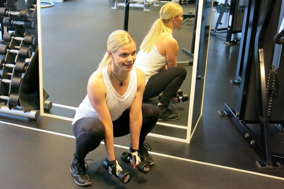 Mer aktiverad sätesmuskulatur ger bättre resultat