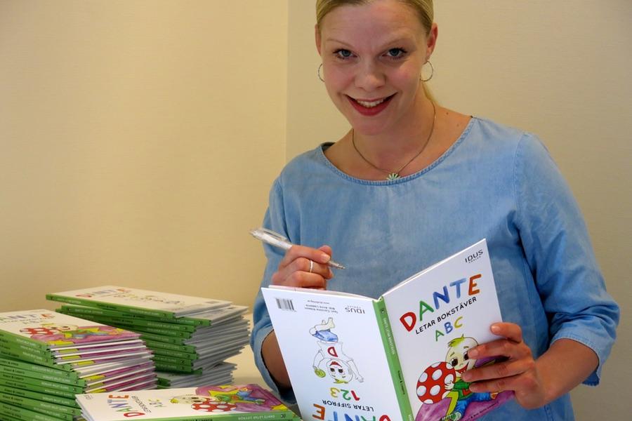 Jag signerar min barnbok