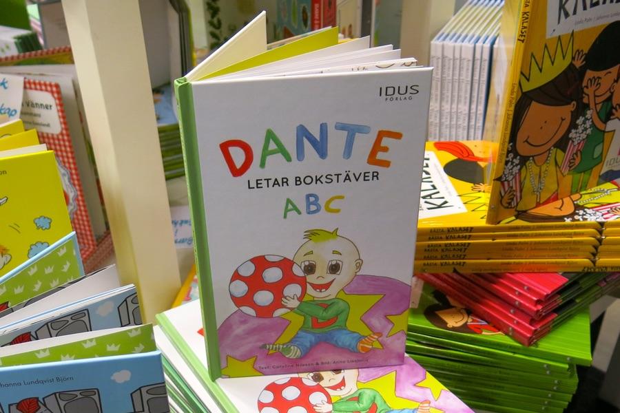 Dante letar siffror / Dante letar bokstäver på Bokmässan