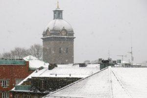 Snöigt i Borås