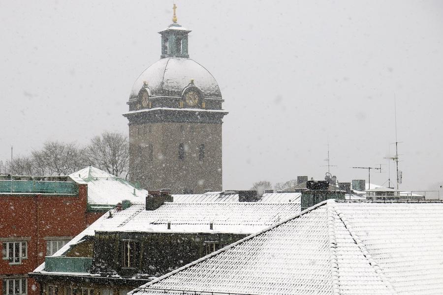 Idag är det vinter i Borås
