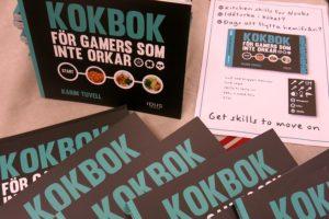 Karins kokbok för gamers som inte orkar