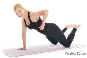 Planka med axelrodd